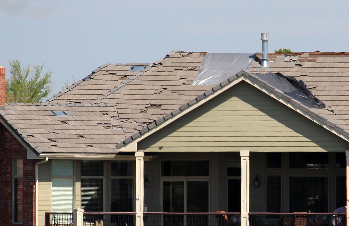 How To Report Roofing Damage Affluent Exteriors Austin